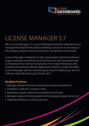 LICENSE MANAGER 5.7 - Phoenix Software