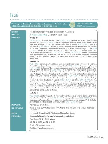 VII Congreso Técnico: Nuevos hábitos de consumo- Alcohol y otras ...