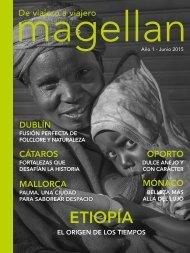 Revista de viajes Magellan - Junio 2015