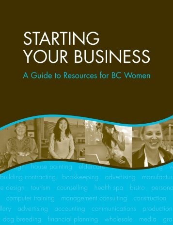 STARTING YOUR BUSINESS - Surrey Board of Trade