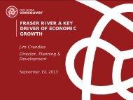 Jim Crandles - Port Metro Vancouver - Surrey Board of Trade