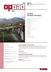 Rondane Wandelen, Noorwegen - Op Pad