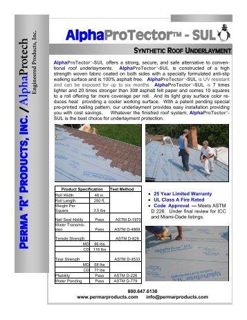 alphaprotector 2.pdf - Jensen Bridge & Supply