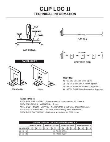 ClipLoc Tech Sheet.pdf - Jensen Bridge & Supply