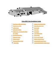Ultra 2000 Trim Installation Guide - Jensen Bridge & Supply