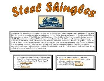 Steel Shingle Websit.. - Jensen Bridge & Supply