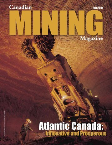 Atlantic Canada: - Canadian Mining Magazine