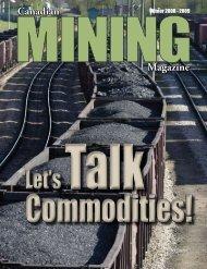 Canadian Magazine - Canadian Mining Magazine