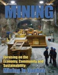 Mining in Quebec - Canadian Mining Magazine