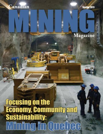 Mining in Quebec - Canadian Mining Magazine