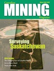 Saskatchewan - Canadian Mining Magazine
