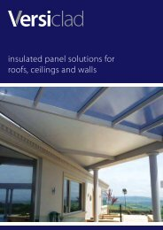 insulated panel solutions for roofs, ceilings and walls - Insulation ...