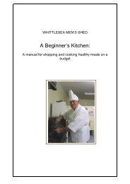 A Beginner's Kitchen