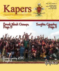 Smythe Chapter Page 11 Greek Week Champs Page 5 ...