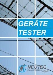 pro 0751-D Prüfungen nach DIN VDE 0701 und DIN VDE 0702
