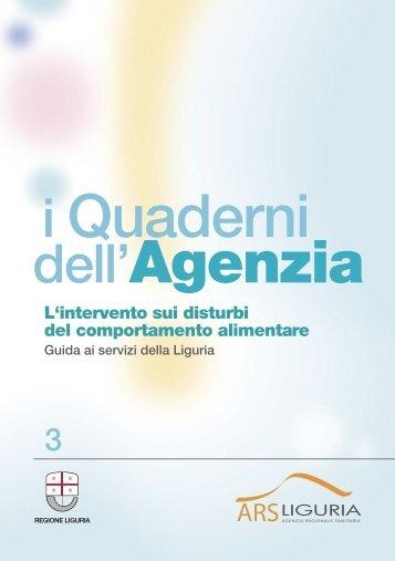 Guida ai servizi della Liguria - Le Buone Pratiche di cura nei Disturbi ...