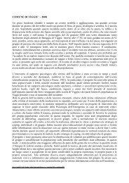 COMUNE DI VIGGIU' – 2008 Un grave incidente ... - EMDR Italia