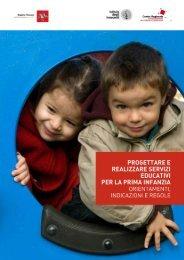 Progettare e realizzare servizi educativi per la prima infanzia