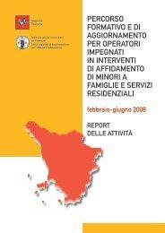 Percorso formativo e di aggiornamento - Centro regionale di ...