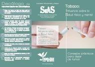 Tabaco - Colegio Oficial de Psicólogos de Madrid