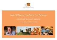 Flyer Spezial Wine&Dine Februar11.indd - Vinum