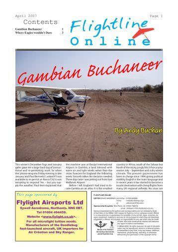 Gambian Buchaneer By Andy Buchan - British Microlight Aircraft ...