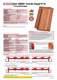 Der NIBRA®-Kombi-Ziegel R 10 - Nelskamp