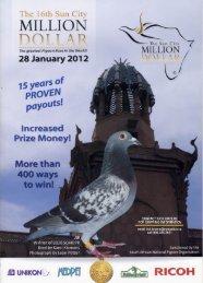 MILLION /-V r - Choice Pigeon Auctions