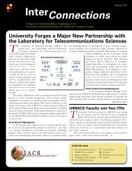 Download - University of Maryland Institute for Advanced Computer ...