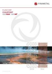 Catalogue Plancher Chauffant [PlancherChauffant; 9.27 ... - Finimetal