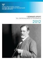 i seminari aperti 2012 - Centro Milanese di Psicoanalisi