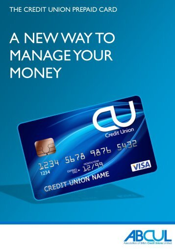 the credit union prepaid card - zinu