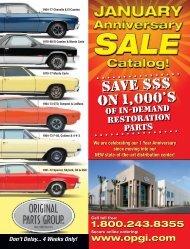 09 sale book.indd - Original Parts Group