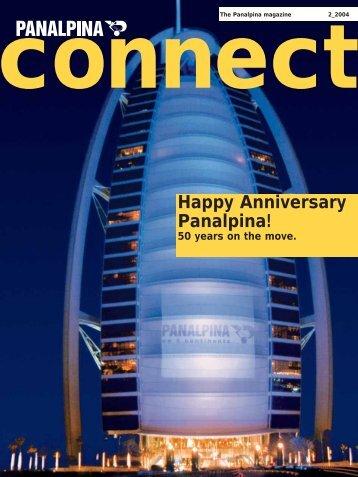 Happy Anniversary Panalpina!