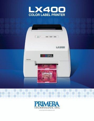 LX400 Brochure - Mdiusa.com