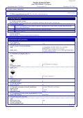 Saugos duomenų lapas - Zep Eesti OÜ - Page 6