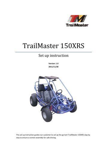 TrailMaster 150 Buggy Setup Guide