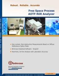 Luminar 3030 brochure - Brimrose Corporation of America
