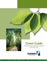 Pages 5, 6 & 1 - Franklin Adhesives and Polymers
