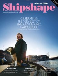 Winter 2010 - Shipshape Magazine Bristol