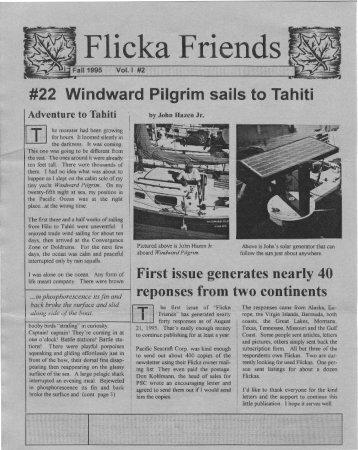 Flicka Friends - Flicka Home Page
