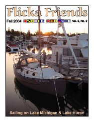 Sailing on Lake Michigan & Lake Huron - Home of the Flicka 20 ...