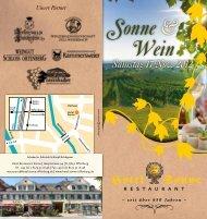ºonne & †ein - Weingut von Franckenstein