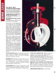 Die Bray@HPV Hochleistungsklappe - SL Armaturen und Antriebe