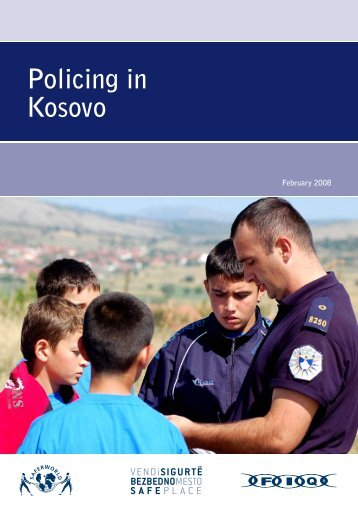 Policing in Kosovo