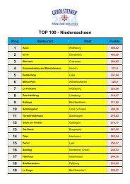 TOP 50 – Niedersachsen - STERNKLASSE