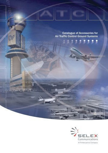 Catalogue of Accessories for Air Traffic Control Ground Systems