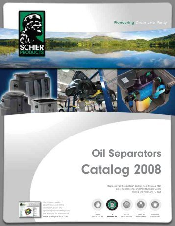 Oil Separators Catalog 2008 - JO Galloup Company