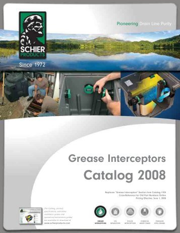 Grease Interceptors Catalog 2008 - JO Galloup Company