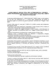 SERVIZIO SANITARIO NAZIONALE REGIONE ... - ASL TO 1
